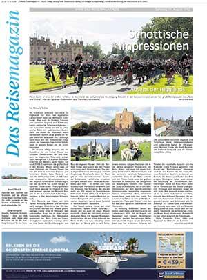 Reisebericht in den Ruhrnachrichten