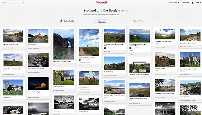 Bilder der Borders bei Pinterest